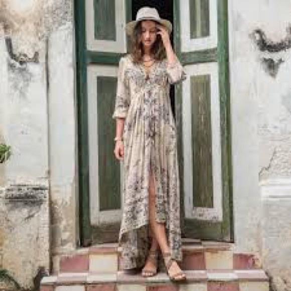 ee8f1fa5b4e5 Odd Molly and Sundance Peaceful Promise Dress. M 5b69d9ca1070ee7fd722df1b